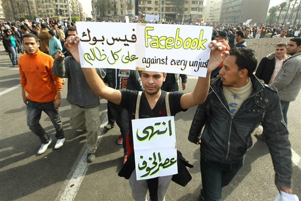 Protests in Egypt 2011 and the role of Facebook, social media