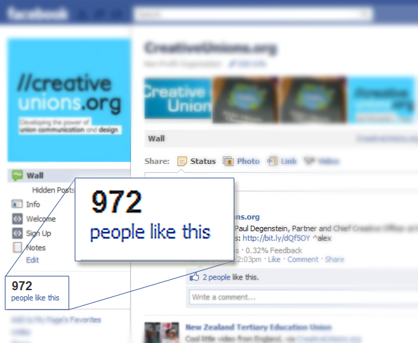 """""""Liking"""" on Facebook - Creative Unions"""