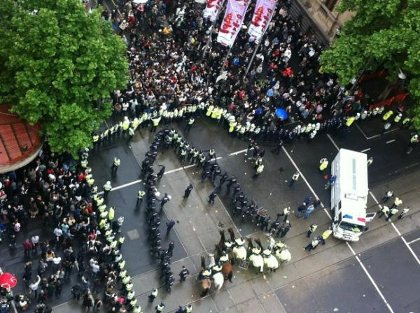 Welcome to Melbourne #occupymelbourne