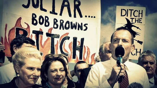 Abbott's carbon tax referendum failed