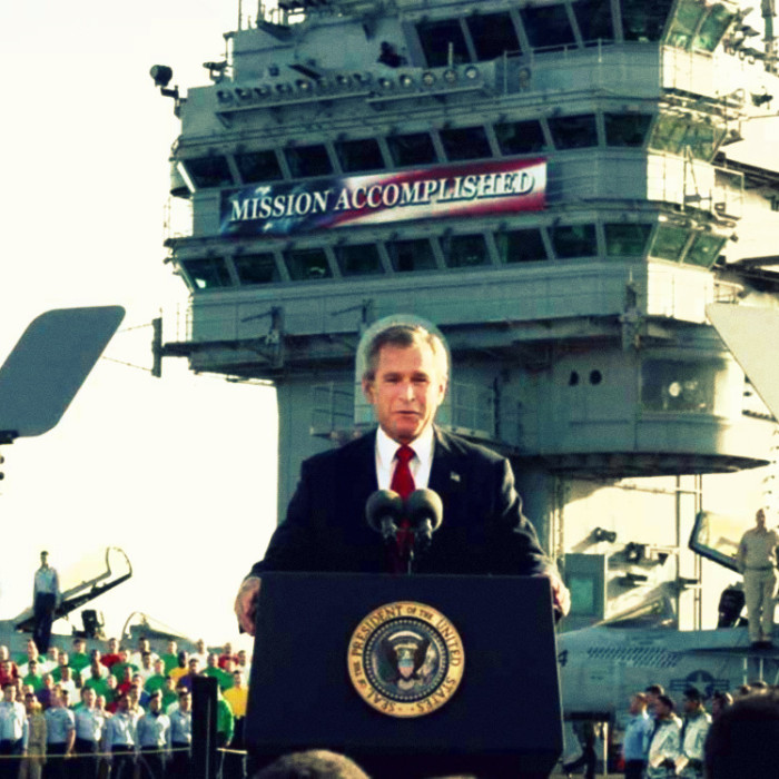 George Bush - Mission Accomplished photo